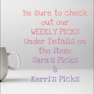 Weekly Picks!
